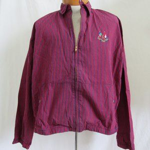 Polo Ralph Lauren 1987 Cross Flags Jacket Stripe L